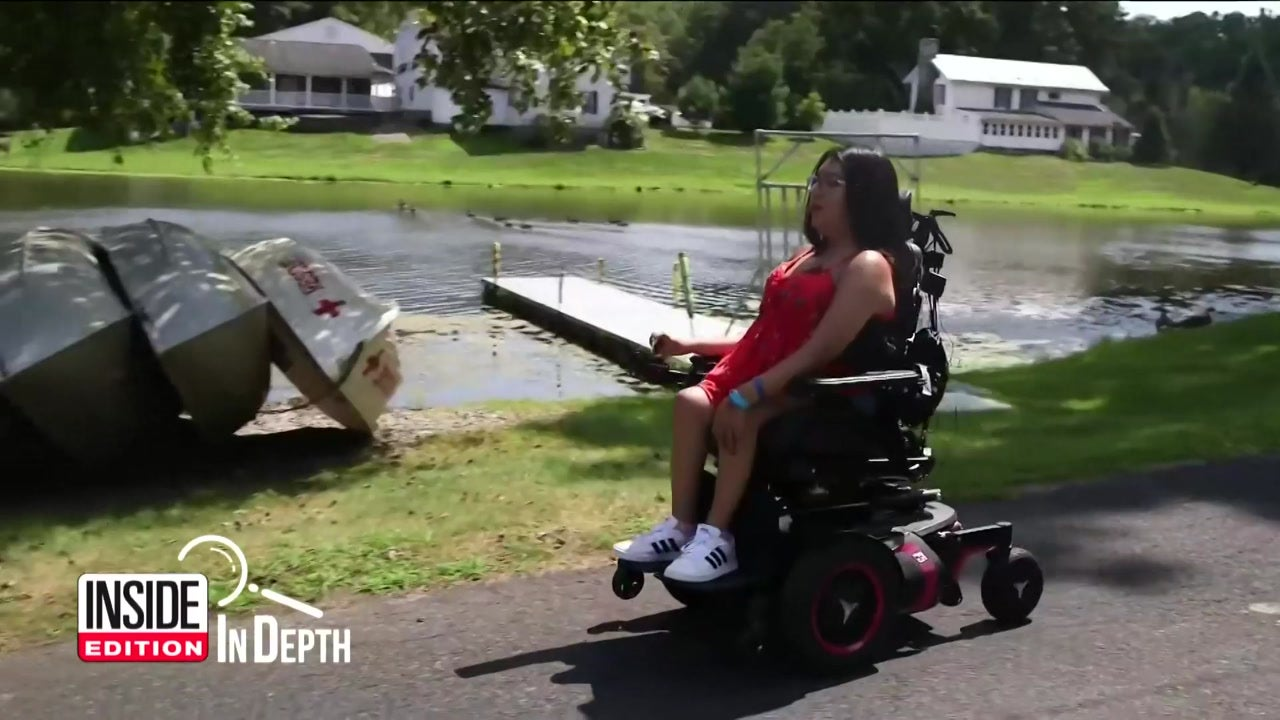 Inside Edition: In Depth - Summer Camp Helps Teen With SMA 'Look at the Bright Side'