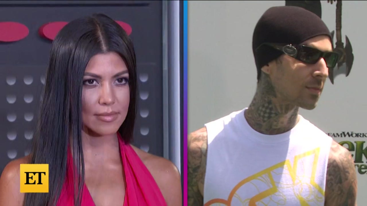 Kourtney Kardashian TATTOOS Travis Barker