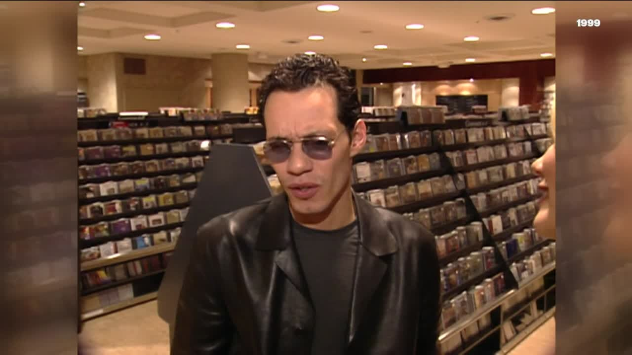 Happy Birthday Marc Anthony! ET's Time With The Salsa Singer