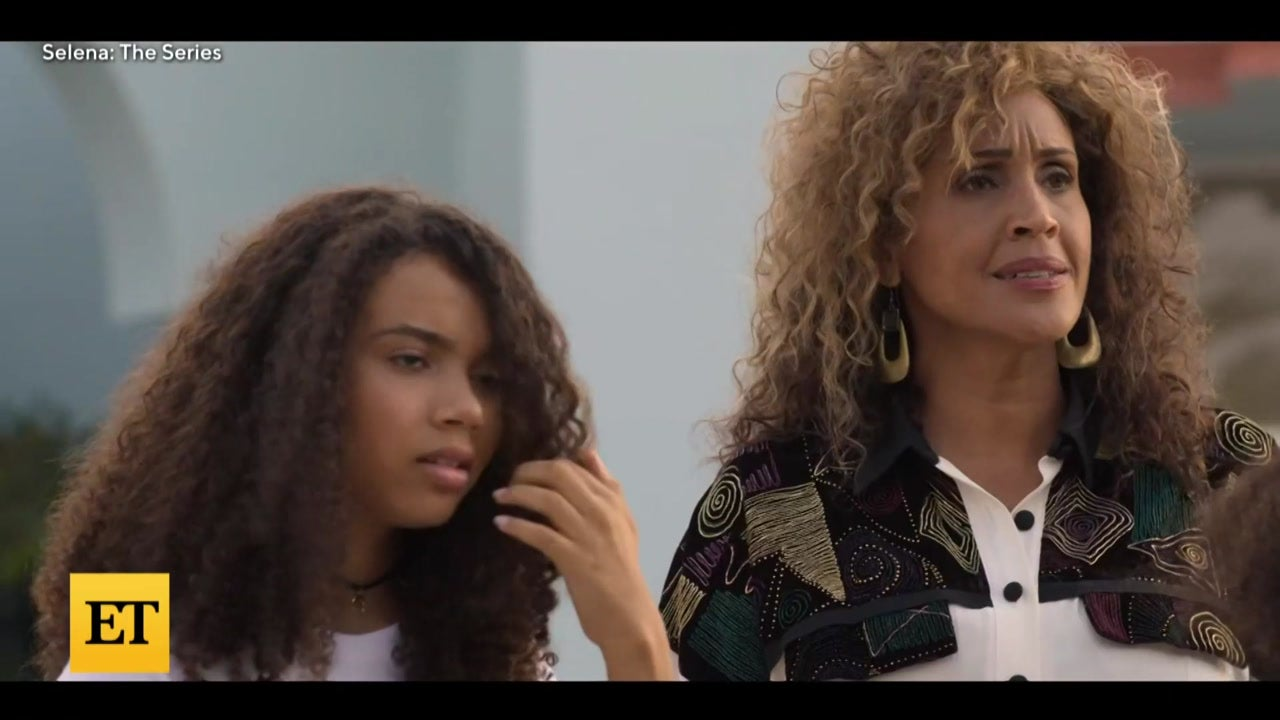 Christian Serratos Reacts to Beyoncé Scene in 'Selena: The Series'