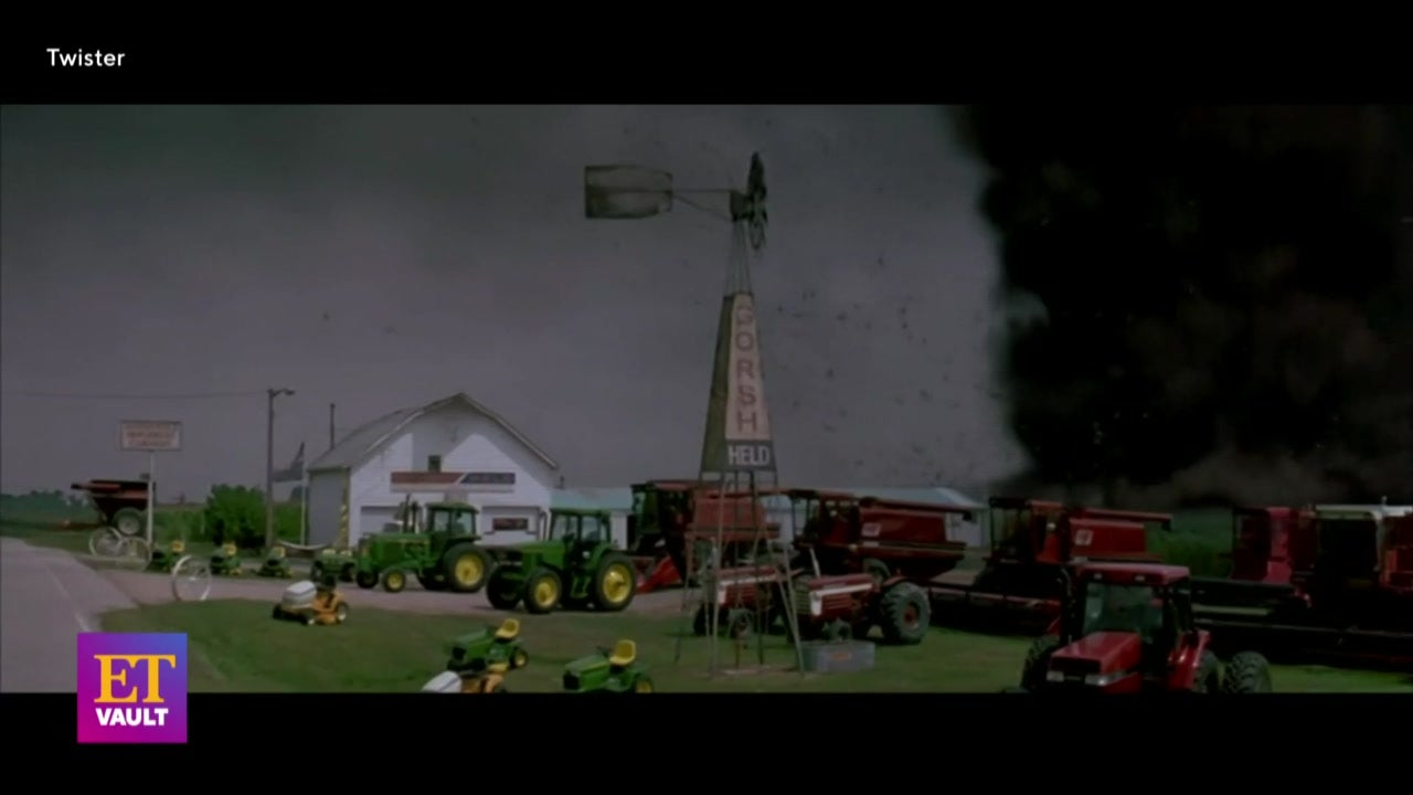 'Twister's Bill Paxton Gives Tour of Destruction Sets (Flashback)