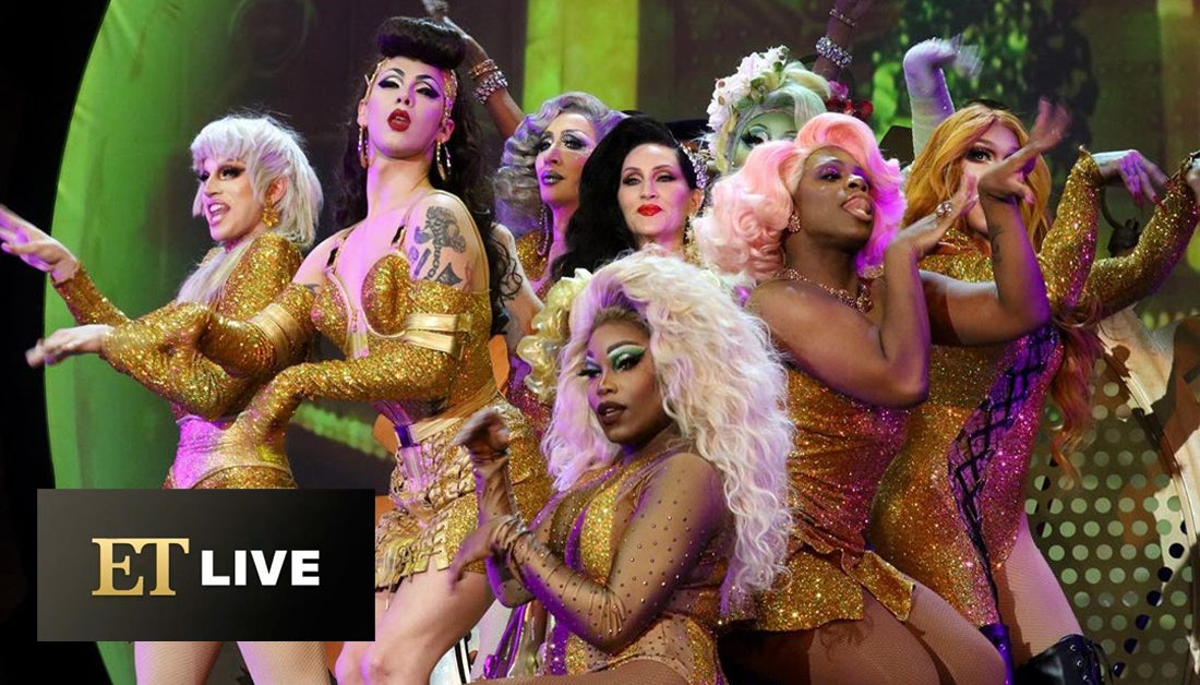 BTS With Queens of RuPaul's Drag Race WERQ The World Tour